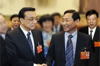 李克强总理亲切接见毕宏生教授