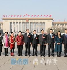 济南报业全国两会全媒体报道:十三届全国人大二次会议预备会议举行 看看履职路上住鲁人大代表的身影