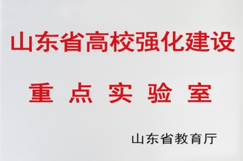 山东省高校强化建设重点实验室