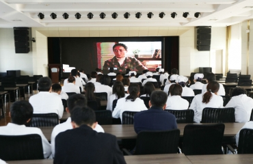 院(所)组织集中观看电影《喜盈代村》