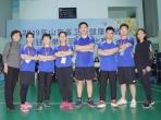 我院积极参加省卫生健康系统驻济单位羽毛球比赛